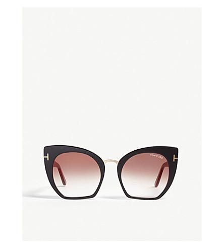 5f0f9fbf2fa0b TOM FORD Samantha-02 TF553 cat-eye-frame sunglasses (Black