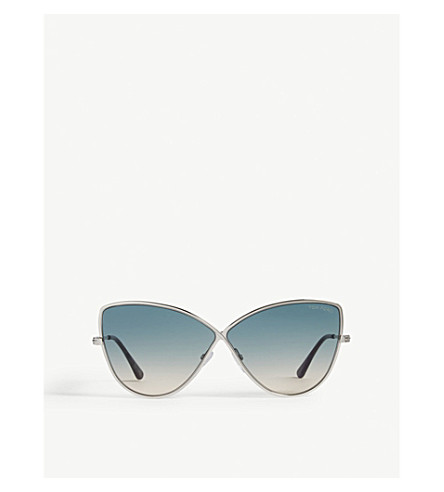 5a3dacacf4b11 TOM FORD - Elise-02 butterfly-frame sunglasses