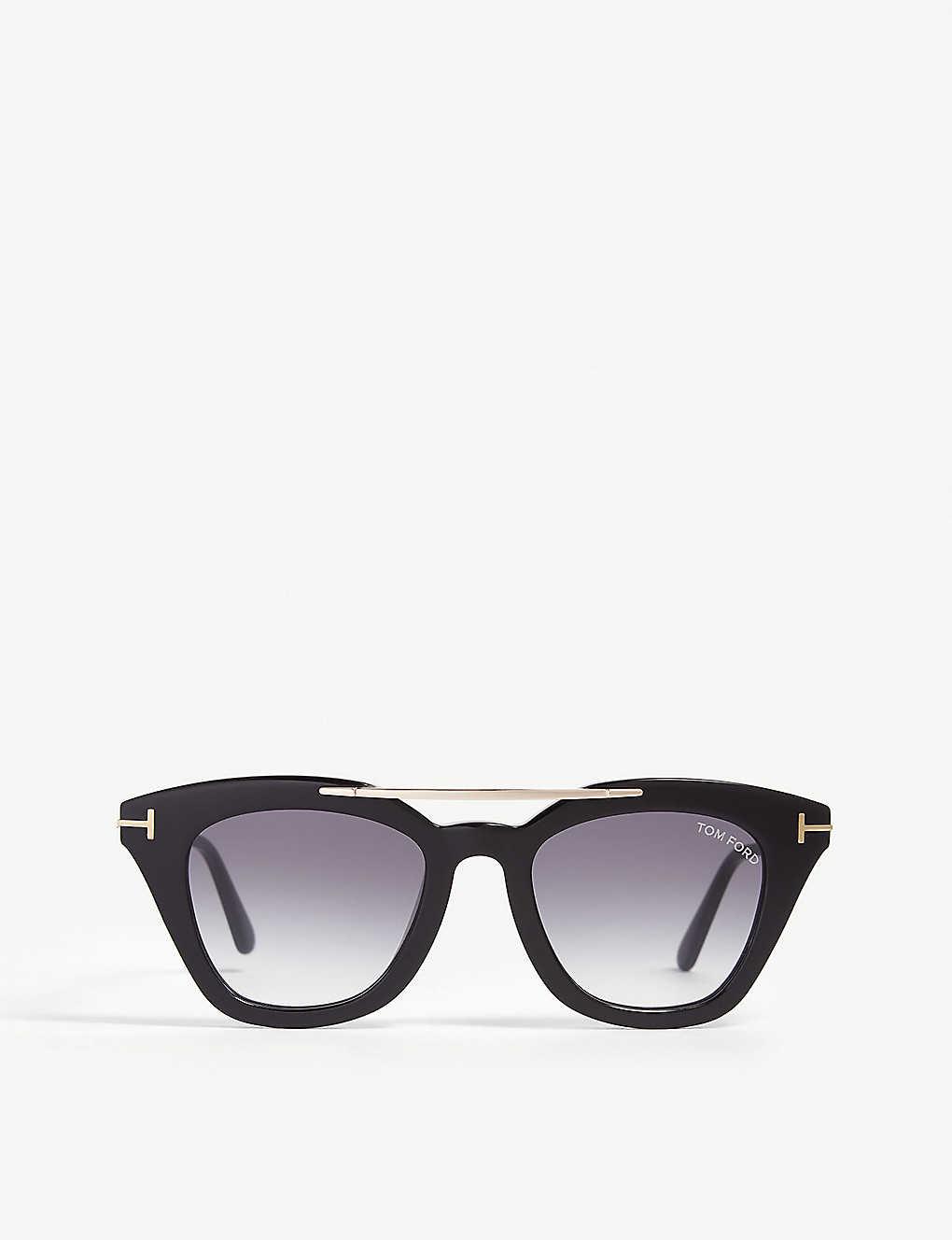 2e5f80afb49e4 TOM FORD - Anna-02 TF575 cat-eye-frame sunglasses