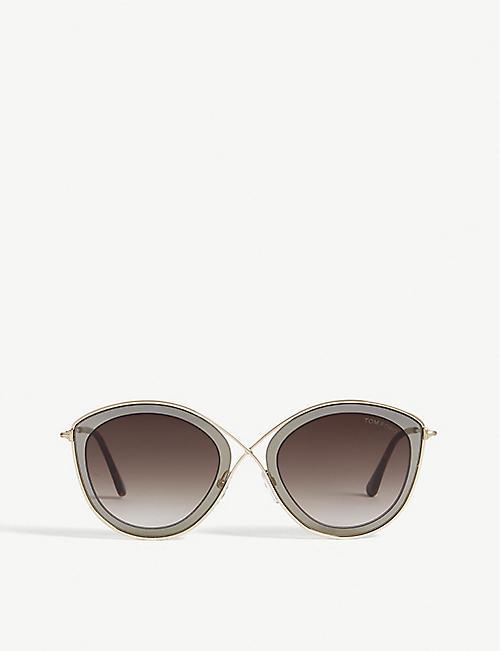 c80604c3579 TOM FORD - Cat eye - Sunglasses - Accessories - Womens - Selfridges ...