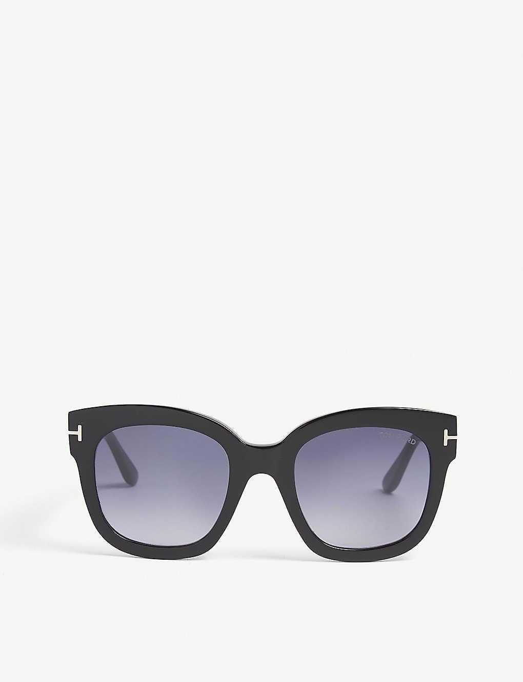 6160e11768ce5 TOM FORD - Beatrix square-frame sunglasses