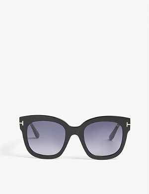 TOM FORD Beatrix square-frame sunglasses