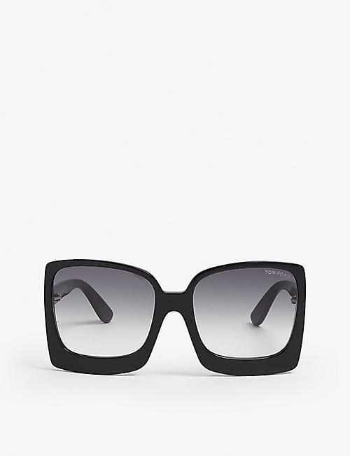 TOM FORD: Katrine square-frame sunglasses