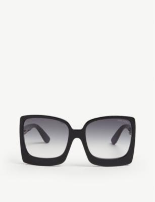 Tom Ford Katrine Square Frame Sunglasses Selfridges Com