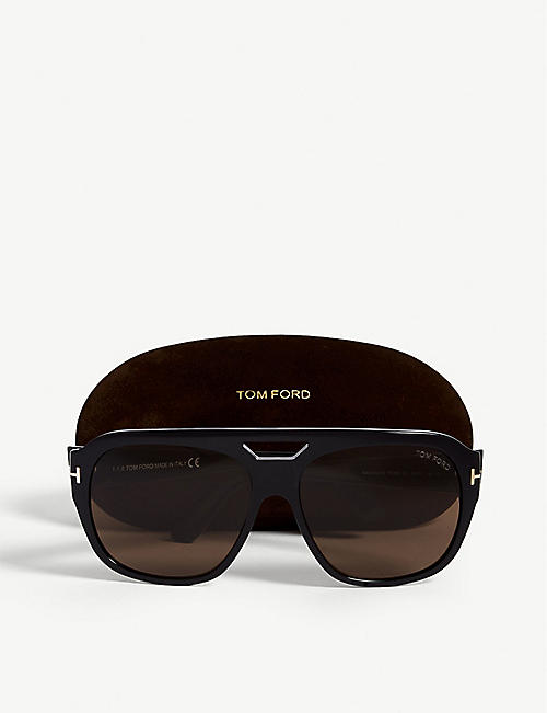 TOM FORD Barchardy square-frame sunglasses