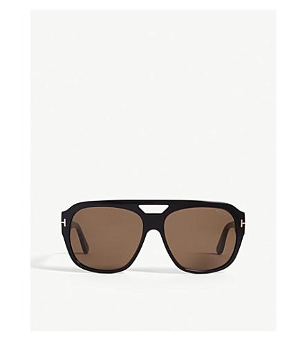 4c29049fa82 Tom Ford Ft0630 Square-Frame Sunglasses In Black