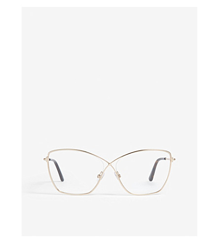 03a30441d1 TOM FORD - Ft5518 butterfly-frame optical glasses