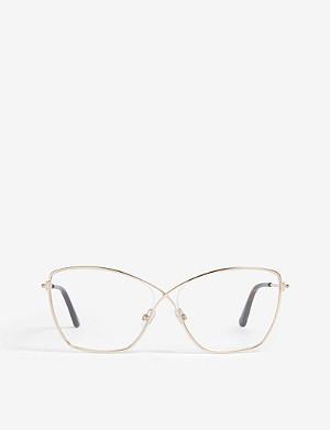TOM FORD Ft5518 butterfly-frame optical glasses