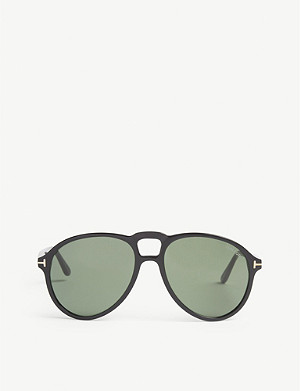 TOM FORD Lennon pilot-frame sunglasses