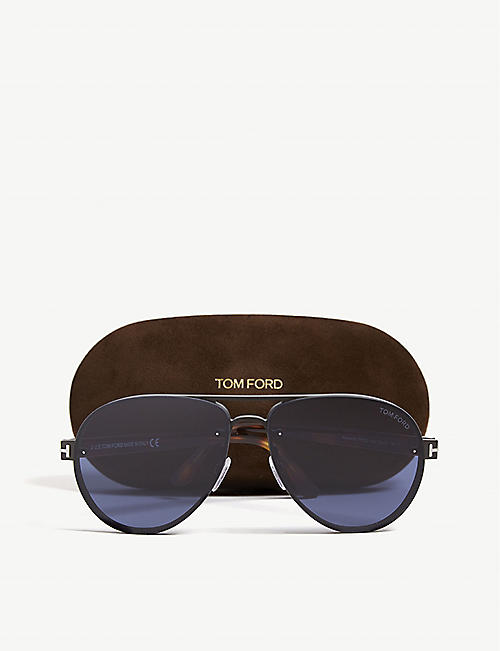 TOM FORD Alexei aviator sunglasses