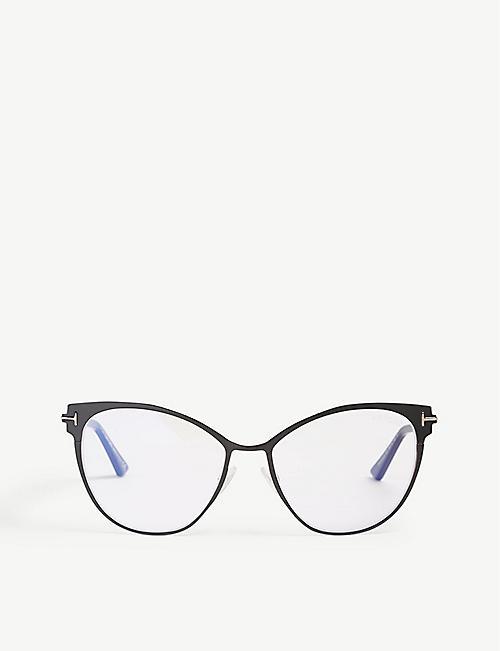 10e96d4207 TOM FORD Tf5530-B cat-eye optical glasses