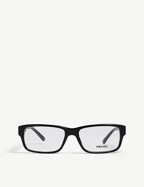48ee36a526d PRADA Pr16MV rectangle-frame optical glasses