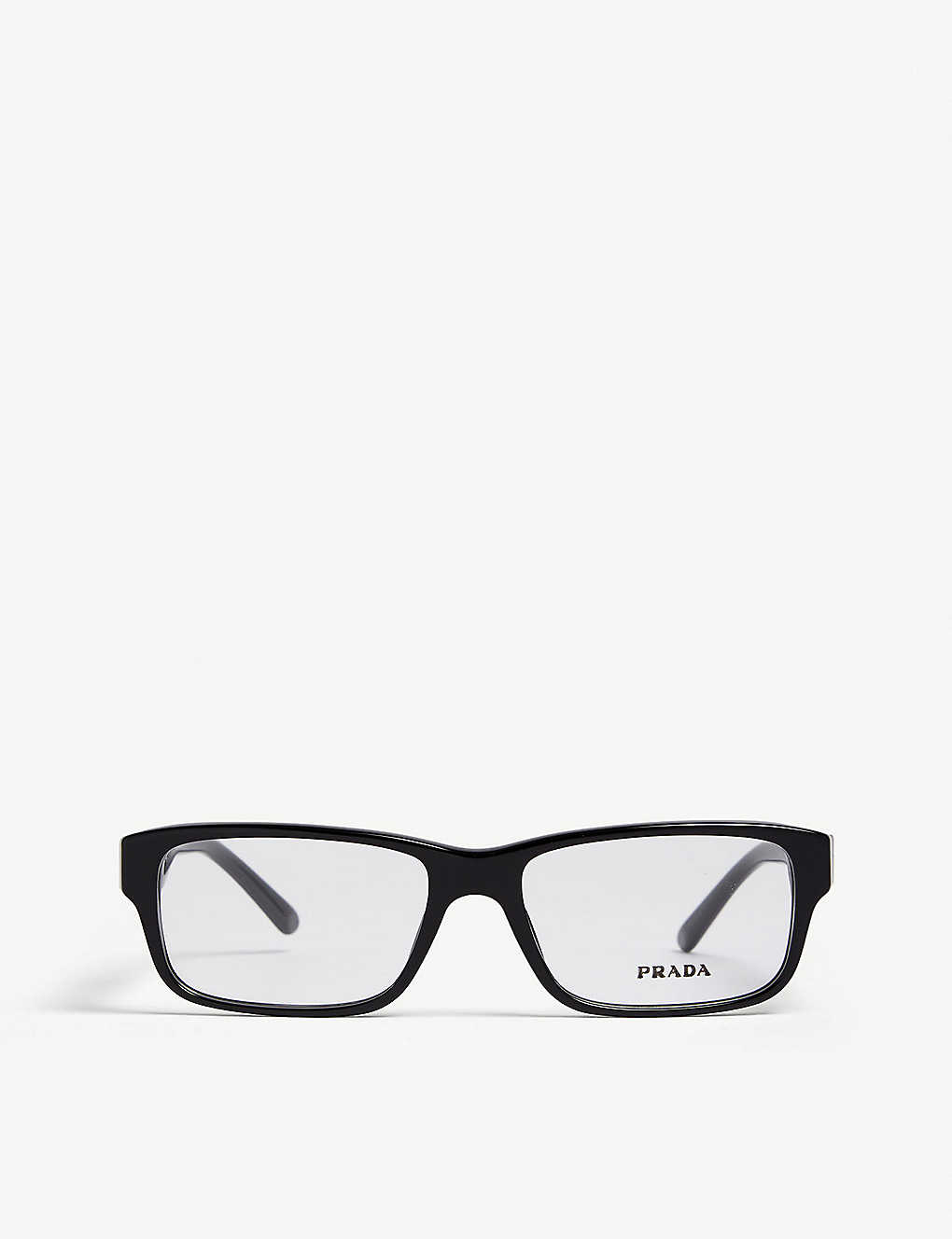 PRADA: Pr16MV rectangle-frame optical glasses