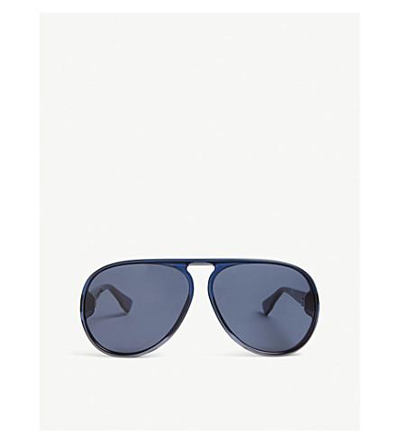 906494cebd8 DIOR Diorlia pilot-frame sunglasses (Blue