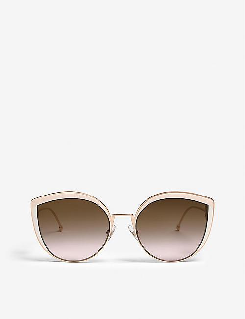 62a4e3f4c40 Cat eye - Sunglasses - Accessories - Womens - Selfridges