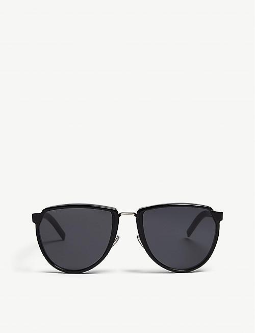 7ac25a8805da DIOR Blacktie248s oval-frame sunglasses