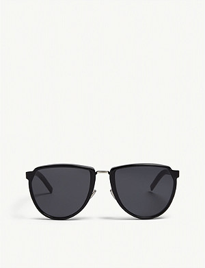 DIOR Blacktie248s oval-frame sunglasses