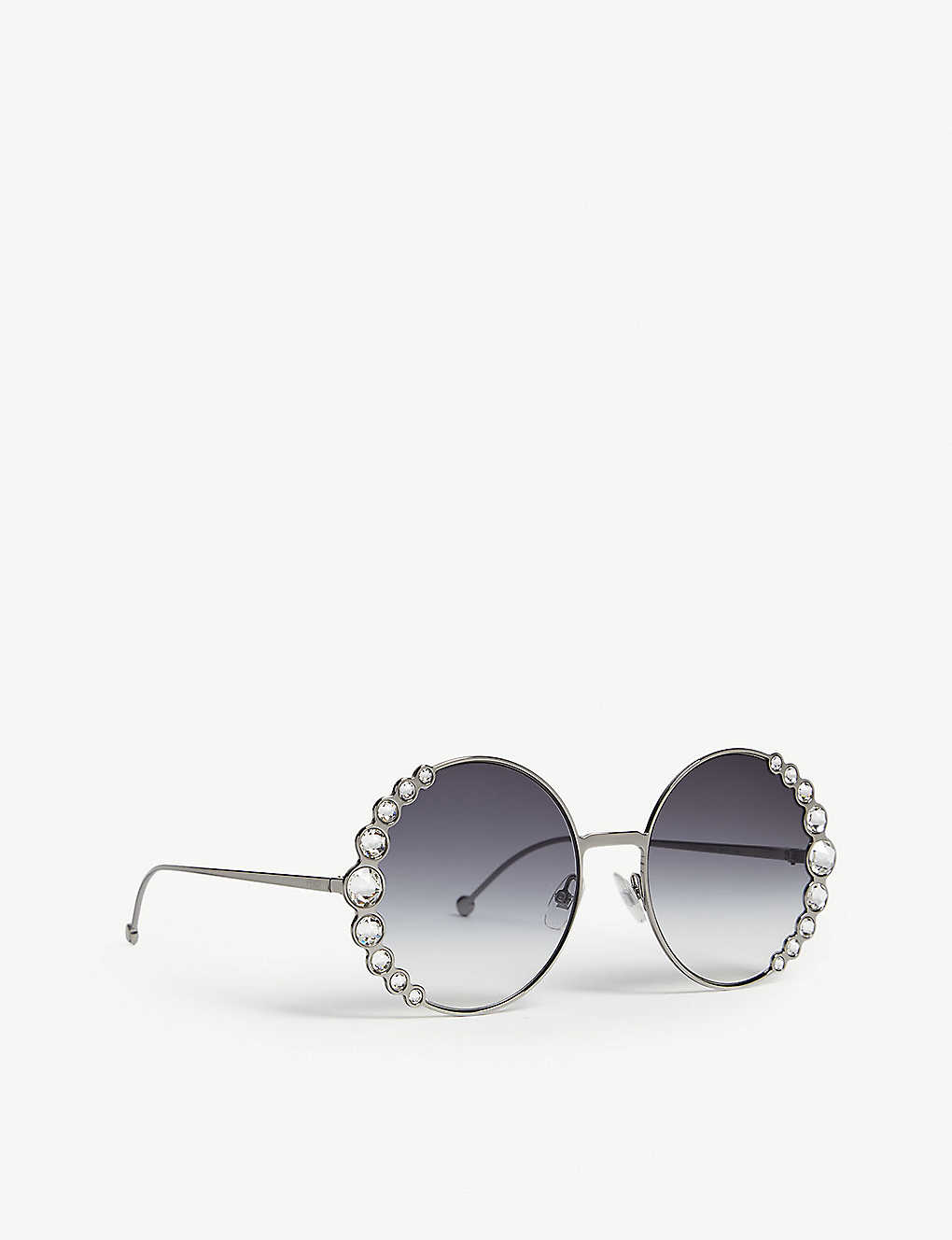 d5a861b63b FENDI - FF0324 S Ribbons   Crystals round-frame sunglasses ...