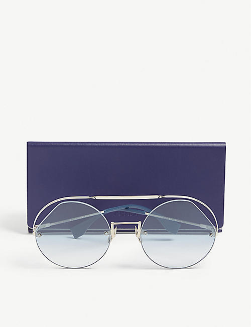FENDI FF0325/s round sunglasses