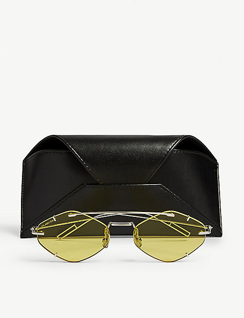 DIOR Inclusion diamond-frame sunglasses