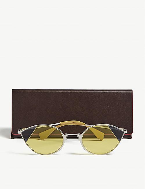 a5a7312dd9 FENDI FF0342 S small Cat-Eye sunglasses