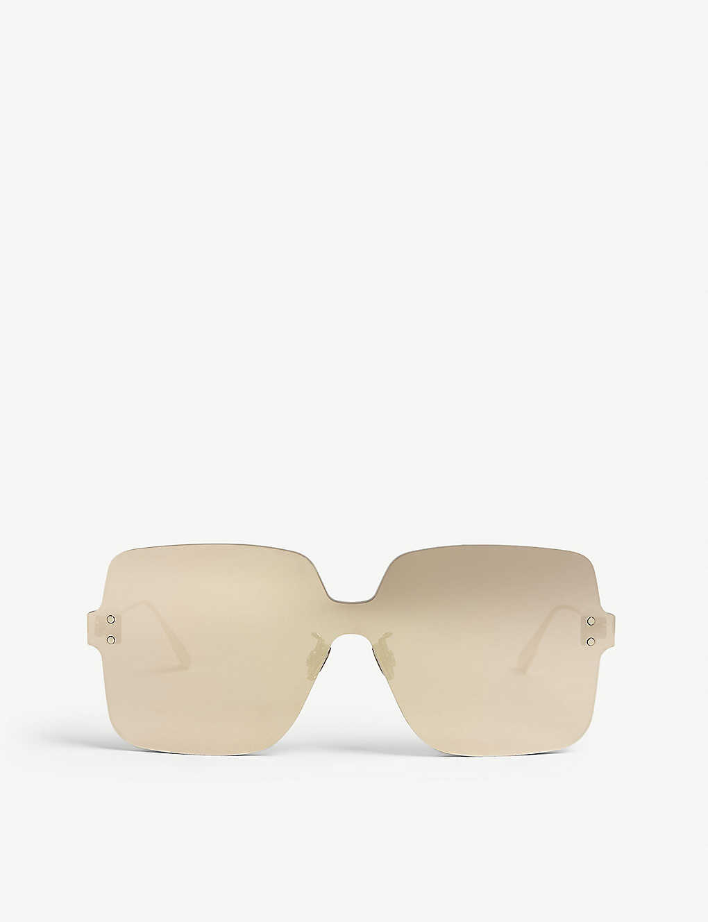 6ac70696bff41 DiorColorQuake1 square-frame sunglasses - Gold ...