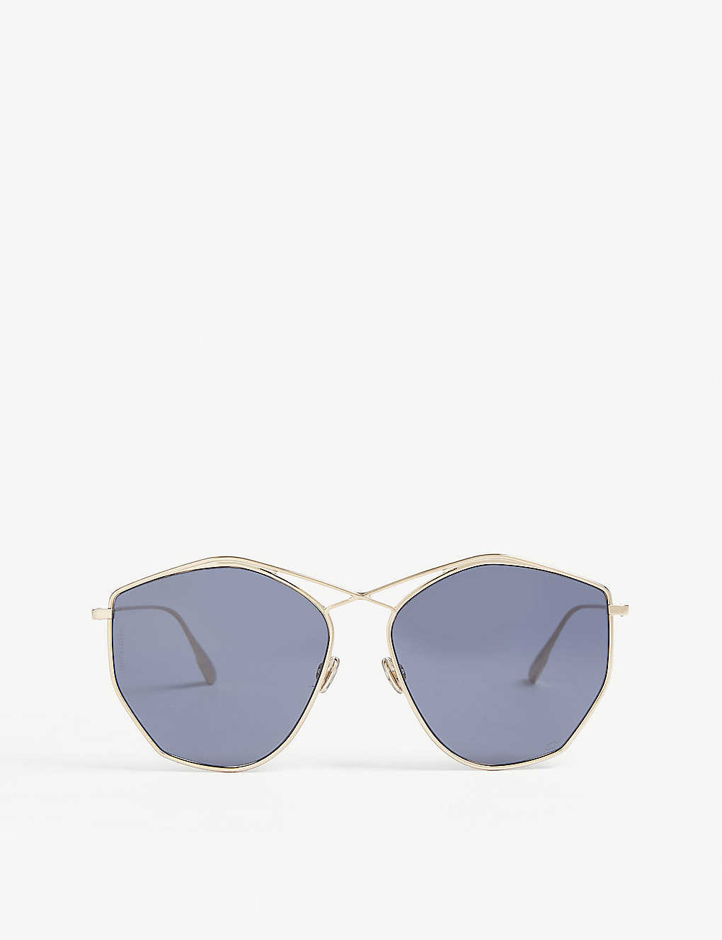DIOR: DiorStellaire4 irregular-frame sunglasses