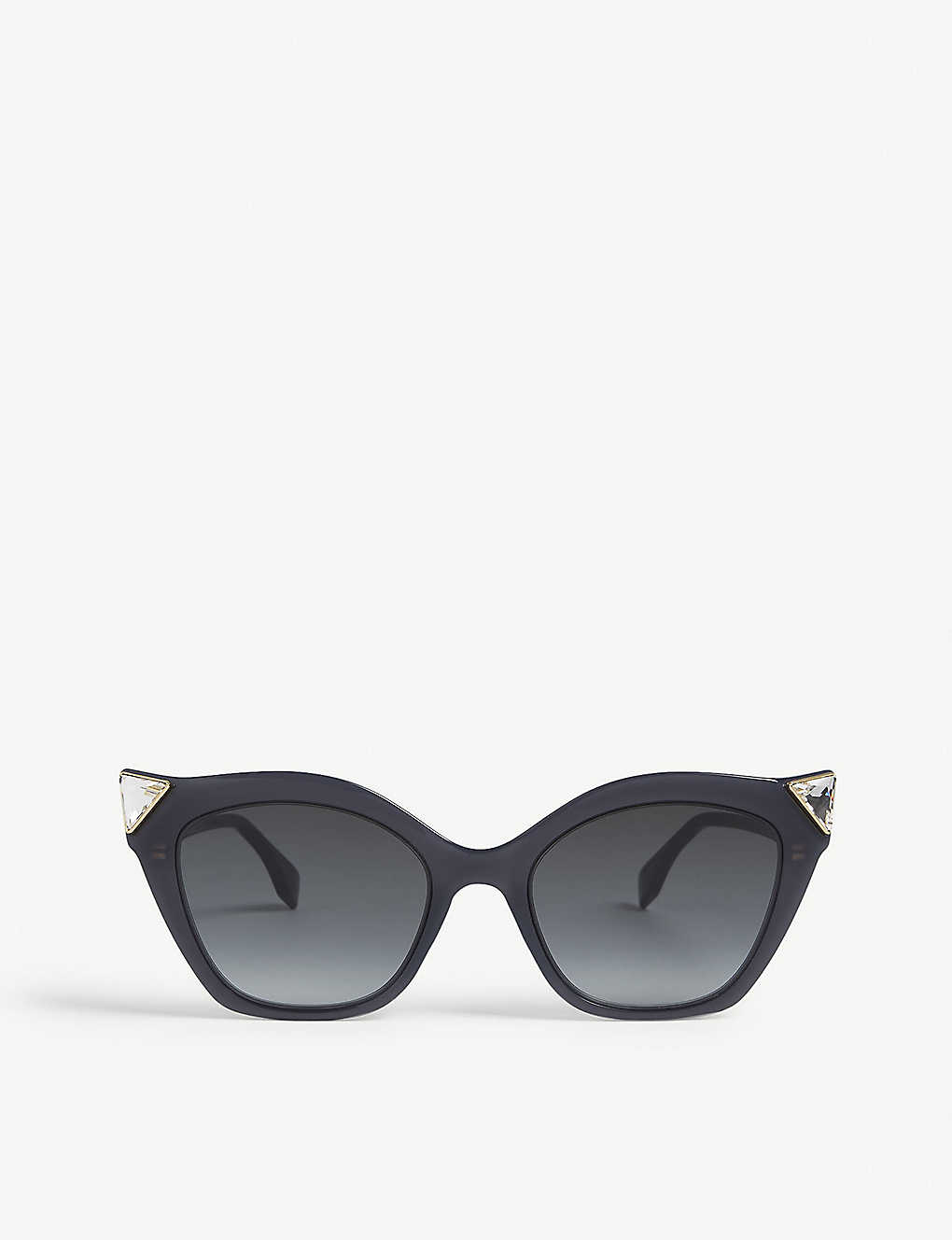 7b05e837abbd2 FF0357 cat-eye-frame sunglasses - Black ...