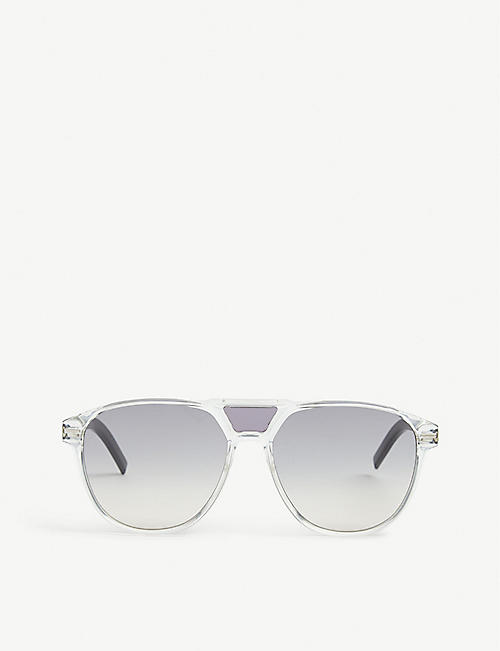 DIOR Black Tie aviator sunglasses