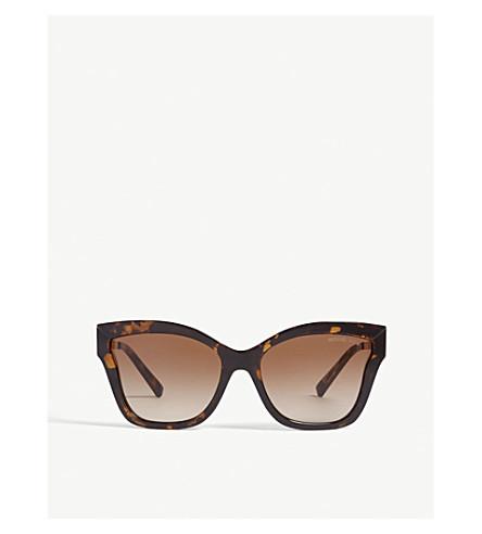 8673d079ed MICHAEL KORS MK2072 Barbados cat-eye frame sunglasses (Brown