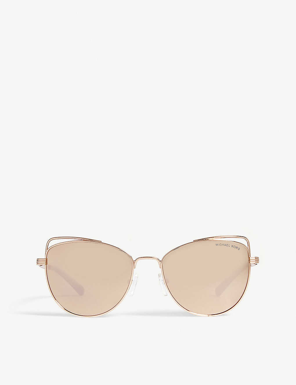 c9b99ce243f7 MICHAEL KORS - Michael Kors Rose Gold St. Lucia Cat's Eye Sunglasses ...