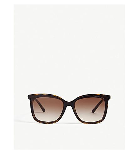 41c128151865e MICHAEL KORS Zermatt square sunglasses (Dark+tort