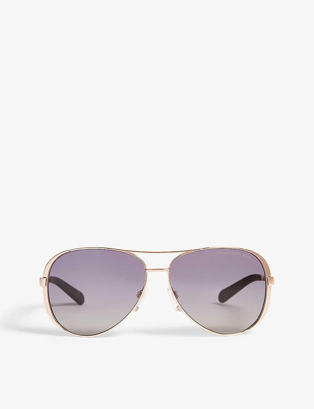 7c6607cd24e5 MICHAEL KORS - MK5004 Chelsea Aviator sunglasses | Selfridges.com