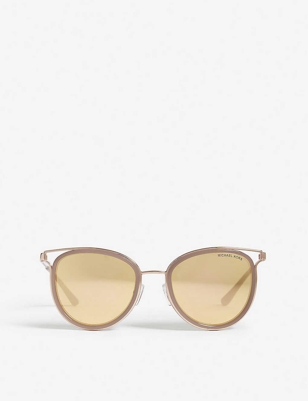 a4e5d02d4160 MICHAEL KORS - Havana cut-out cat-eye frame sunglasses | Selfridges.com