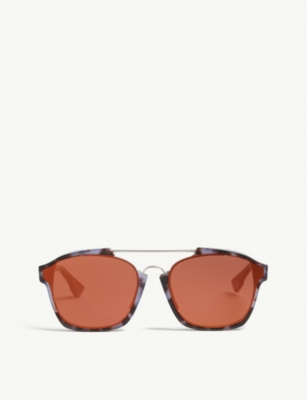 DIOR Abstract rectangle-frame sunglasses