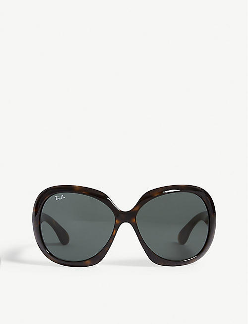 RAY-BAN: RB4098 Jackie Ohh II square-frame sunglasses