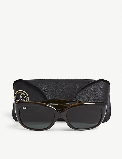 RAY-BAN RB4101 Jackie Ohh rectangle-frame sunglasses