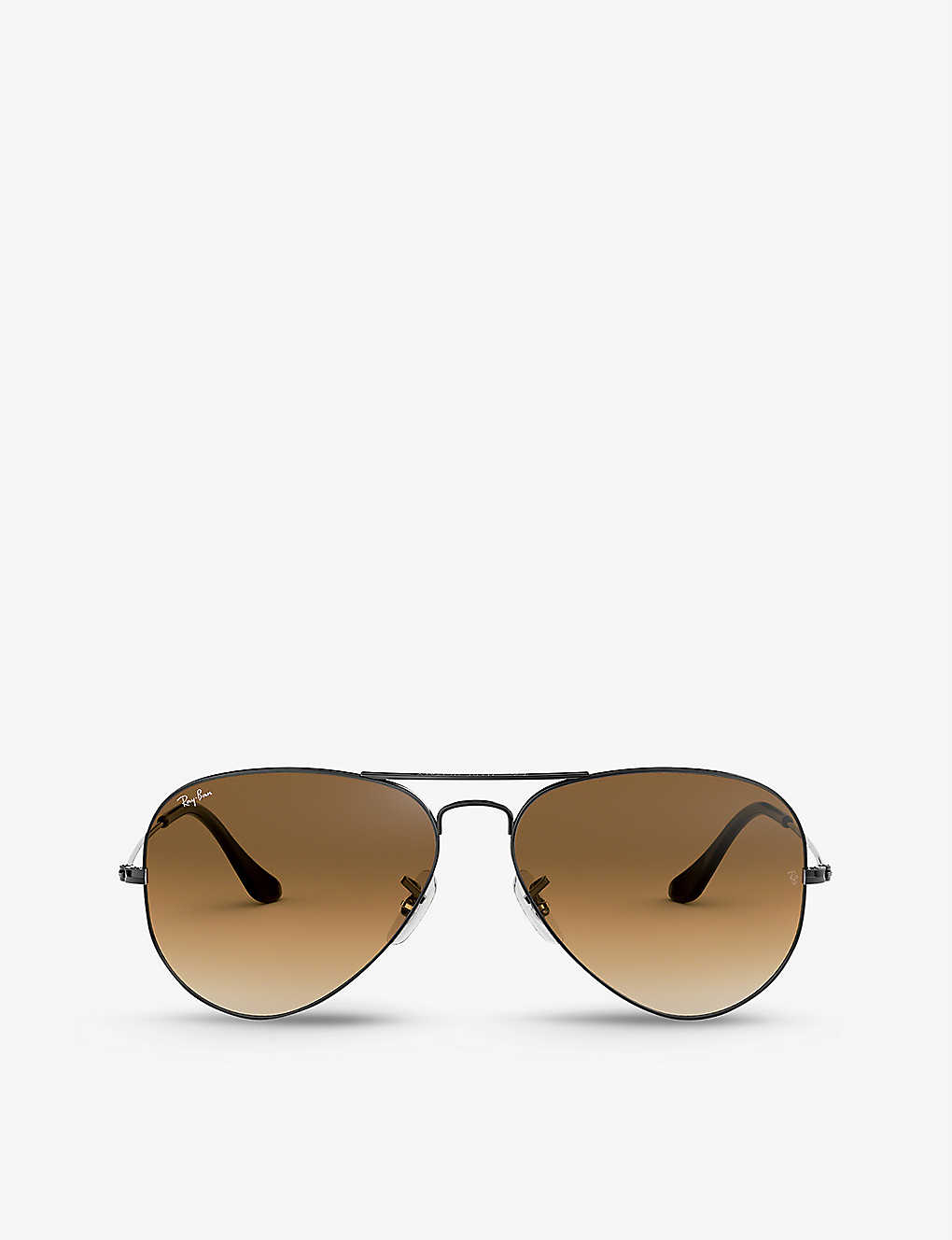RAY-BAN: RB3546 phantos-frame metal sunglasses
