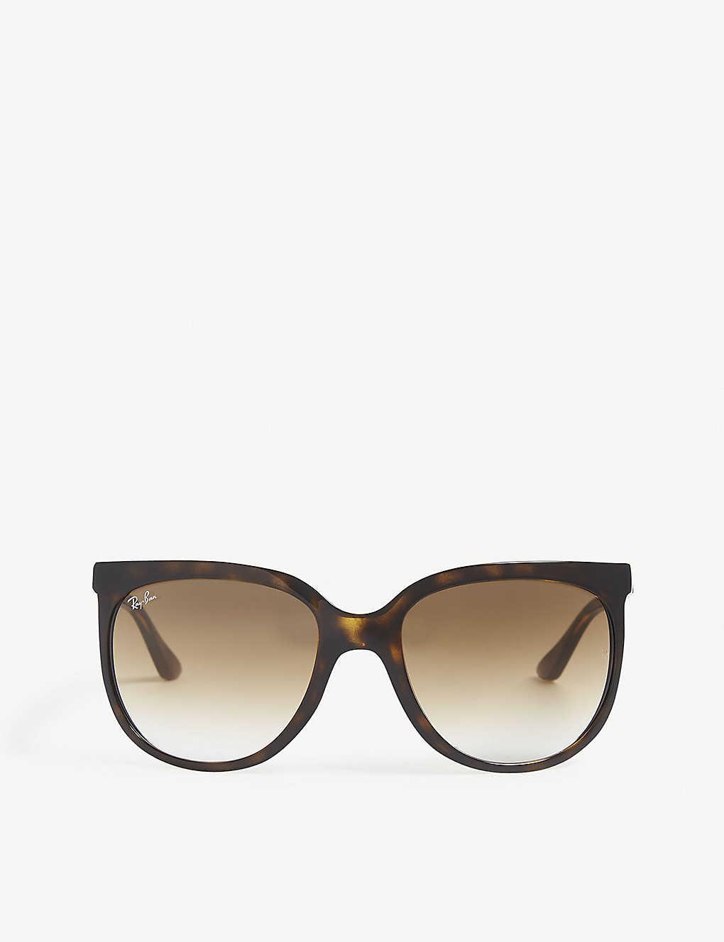 d9f96e1f72f99 RB4126 tortoiseshell square-frame sunglasses - Havana ...