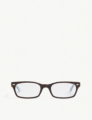 RAY-BAN RB5150 rectangle-frame glasses