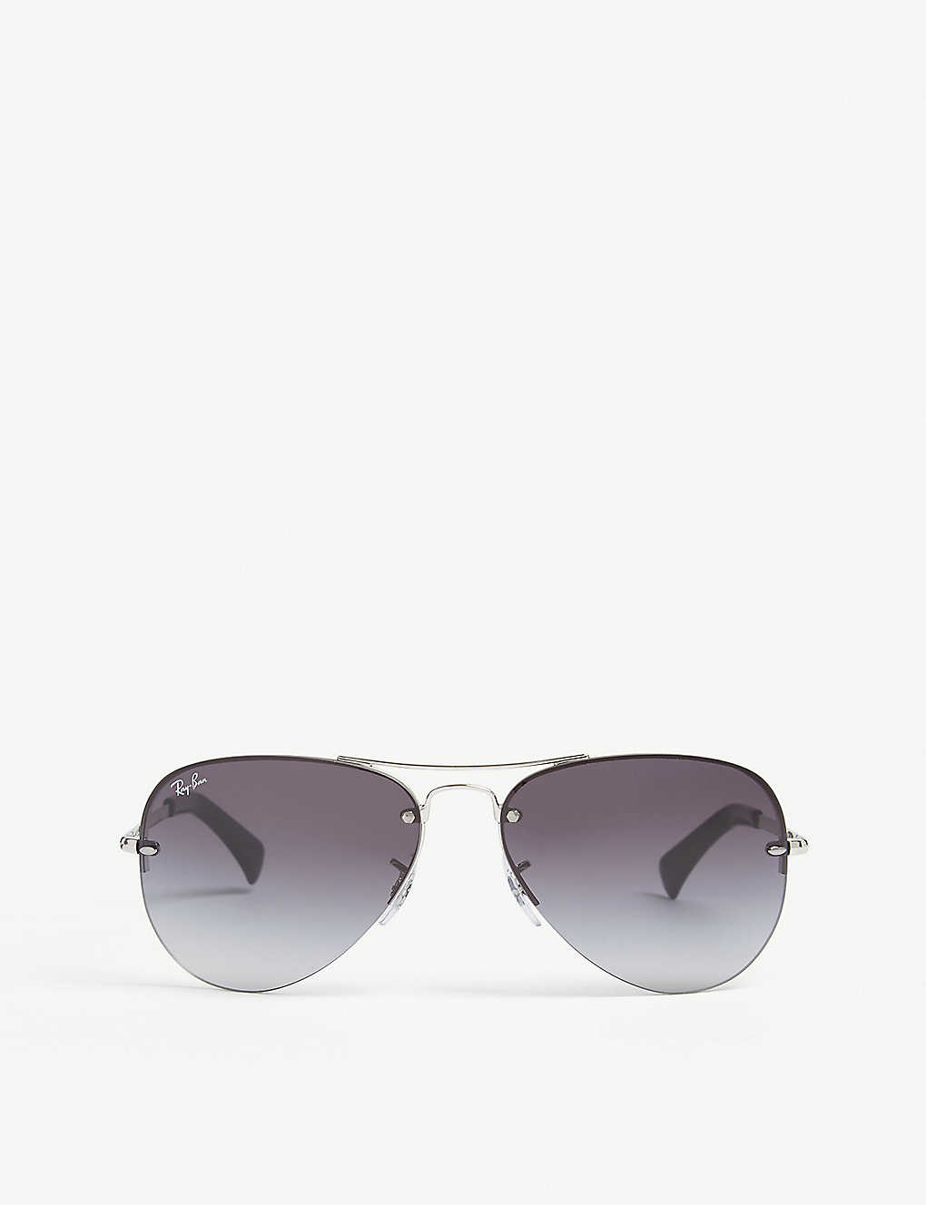 RAY-BAN: RB3449 pilot-frame sunglasses