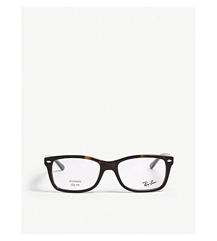 9c77f813d5 RAY-BAN Havana square-frame optical glasses (Brown