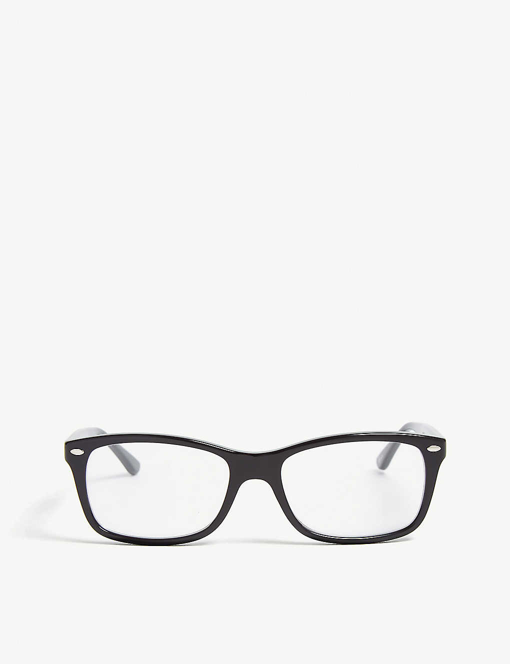 1642658c829a6 RB5228 square-frame glasses - Black ...