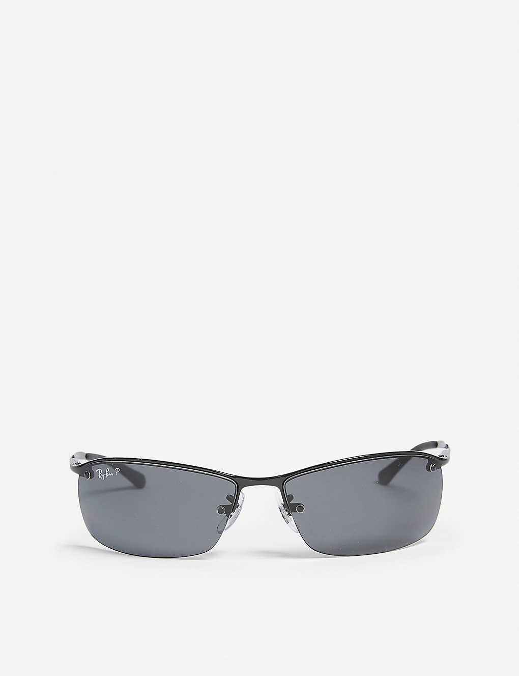 RAY-BAN: Rb3183 rectangle-frame sunglasses