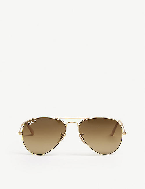 348479e85e RAY-BAN Aviator-frame sunglasses