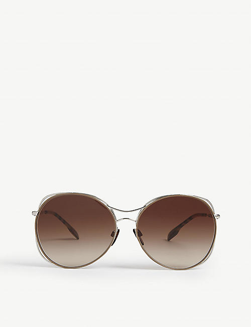 2a8bba942aa98 BURBERRY Be3105 round-frame sunglasses. BURBERRY Be3105 round-frame  sunglasses. Quick Shop