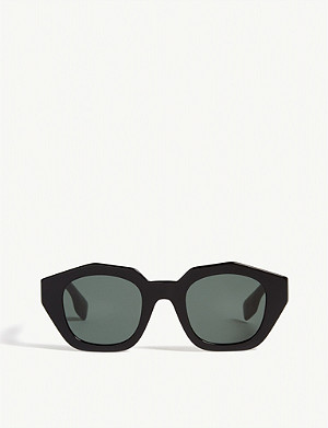 BURBERRY Be4288 irregular-frame sunglasses