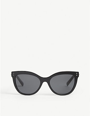 VALENTINO GARAVANI: Va4049 cat-eye frame sunglasses