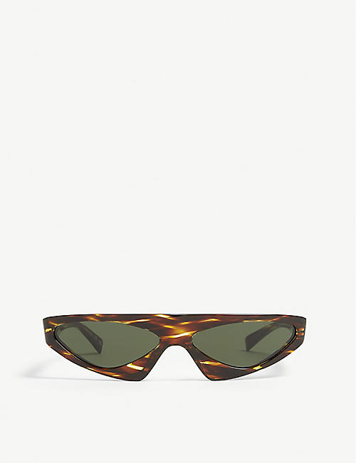 453e2397b637 ALAIN MIKLI Alain Mikli x Alexandre Vauthier A05044 Josseline irregular-frame  sunglasses