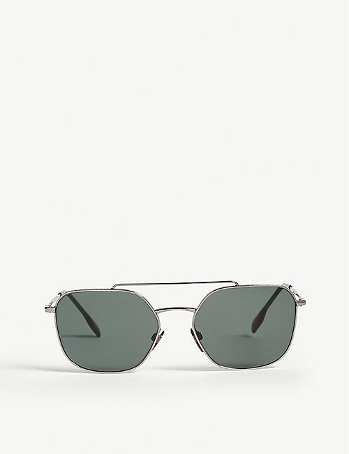BURBERRY: B3107 square-frame sunglasses